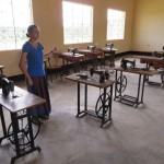 The new sewing classroom