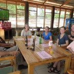 Lunch along Lake Victoria