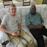 Daniel and his Baba Kawira.