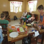 Lunch at Donna and Ryan's home in Nyabange