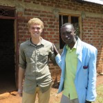 Seth and William, a teaching colleague and good friend