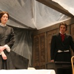 Jane Eyre (Rebecca Fast) and Mr. Rochester (Ben Noll)