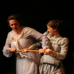 Mother (Adrienne Nesbitt) and Ella (Nicole MIazgowicz)