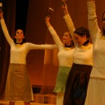 Chorus Members (Sarah Bukirk, Tara Hershberger, Kate Harnish, Grace Eidmann and Emily Swora)