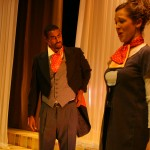Count Almaviva (Ashe Abebe) and Countess Almaviva (Rachel Nofziger)