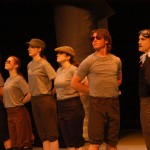 Snowy (Brent Lehman), Goose (Janelle Koch), Pinkfoot (Miriam Augsberger), Goose (Grace Magnan), Barnacles (David Bontrager) and Greylag (Andrew Landis)