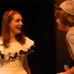 Penny (Miriam Augsburger) and Ugly (Ben Noll)