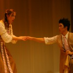 Susanna (Fjaere Harder) and Figaro (Sae Chan Lee)