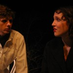 Treplyev (Mike Honderich) and Nina (Beth Glick)