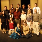 Cast, Crew, and Playwright of A Gentler Place