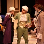M. Loyal (Stefan Kuhns), Tartuffe (Aaron Kaufmann), Cléante (Patrick Maxwell), Laurent (Haven Schrock), Orgon (Sam Jones),  The Exempt (Peter Gary)