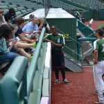 Campers Interviewing Silver Hawks