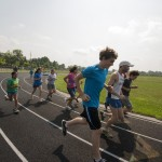 Running the track with Gillette